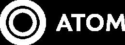 Atom Consulting Logo White